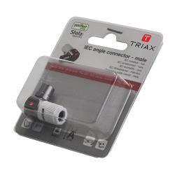 Triax 154114 Coaxconnector Aluminium/Wit
