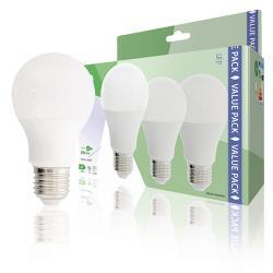 HQ HQLE27A603P04 LED-Lamp E27 A60 9.5 W 806 lm 2700 K