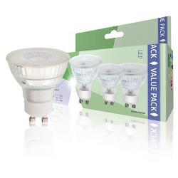 HQ HQLGU103P04 LED-Lamp GU10 PAR16 4.8 W 345 lm 2700 K