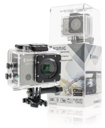 König CSACWG100 Full HD action cam GPS en Wi-Fi