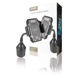 Sweex SWUSPM300BK Universeel XL Smartphonehouder Auto Zwart
