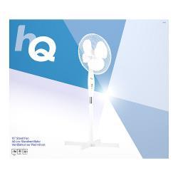 HQ SFN16 Staande Ventilator 40 cm 45 W Plastic Wit