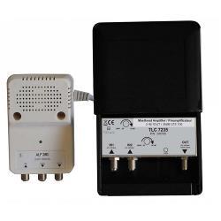 Triax 340185 BIII / DAB+ Mastversterker 35 dB 470-694 MHz