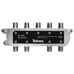 Televés 3144533 CATV-Splitter 11 dB / 5-1000 MHz - 8 Uitgangen