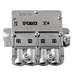 Televés 3155436 Satelliet Splitter 8.5 dB / 5-2400 MHz - 3 Uitgangen