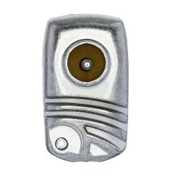 Technetix 11200701 Coax-Adapter IEC-Male - IEC-Female Aluminium