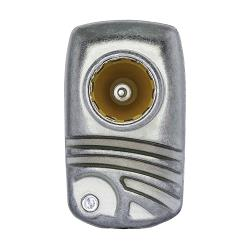 Technetix 11200710 Antenne Adapter Coax 2x F-Male Aluminium