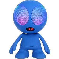 Wiki-bl oplaadbare bluetooth luidspreker 'wiki' - blauw