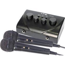 LTC Audio TV-STATION Karaoke mixer met twee microfoons (0)