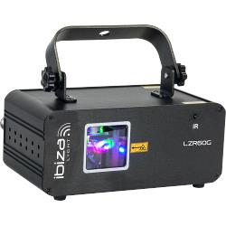 Ibiza Light LZR60G Groene laser 60mw met dmx (0)