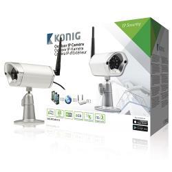 König SAS-IPCAM115 IP-Camera Buiten VGA Metaal