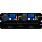 IMG STageline CD-230USB Dubbele cd-speler met MP3 en USB