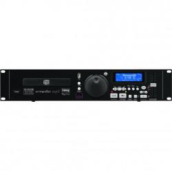 """IMG Stage line CD-196USB enkele 19"""" cd-speler met USB en MP3"""