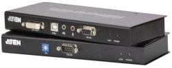Aten CE602 KVM Extender, DVI DL, USB, audio, RS232 60 m