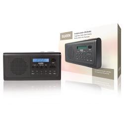 Sweex SWDABR100BK Draagbare DAB+ Radio DAB+ / FM Zwart