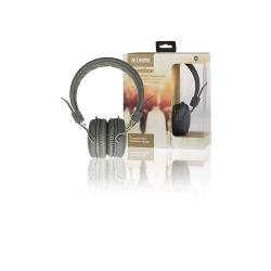 Sweex SWHPBT100G Hoofdtelefoon On-Ear Bluetooth 1.00 m Grijs