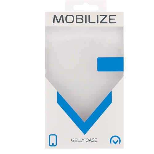 MOB-24166 Smartphone Rubber Gelly Case Zwart
