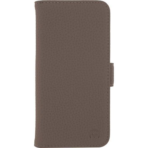 MOB-24172 Smartphone Classic Wallet Book Case Taupe