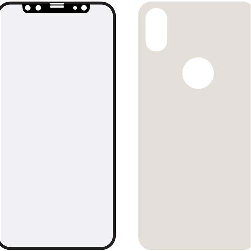 MOB-24037 Edge-To-Edge Glass Front and Back Screenprotector Apple iPhone X