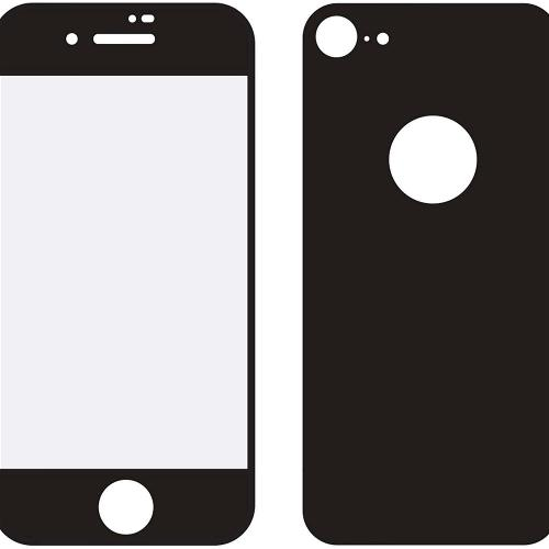 MOB-24038 Edge-To-Edge Glass Front and Back Screenprotector Apple iPhone 8