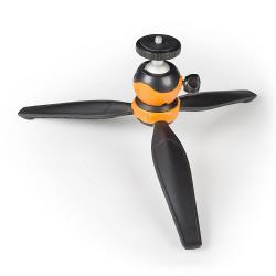 Camlink CL-MT10 Buiten Statief 14 cm Zwart/Oranje