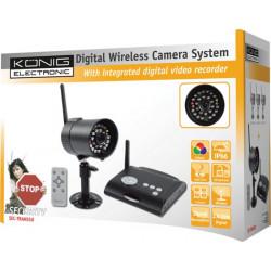 Konig SEC-TRANS50 Digitale 2.4 ghz draadloze camerasysteem