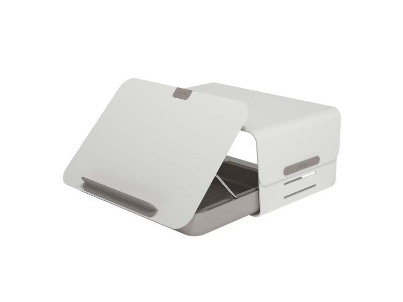 Dataflex 45.220 Addit Bento Standaard & Opberglade Desk Set 220 20 kg Wit