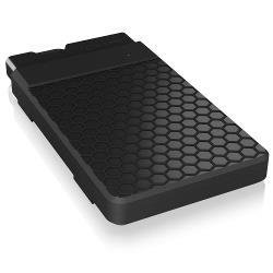 "ICY BOX IB-236-C3 Harde Schijf Behuizing 2.5 "" SATA HDD/SSD Zwart"