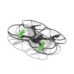 Jamara 422039 R/C-Drone MotionFly G-Sensor Compass Turbo Flip 2.4 GHz Control Zwart/Groen