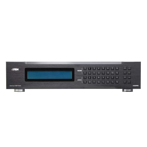VM51616H-AT-G 16-Poorts HDMI Matrix Zwart