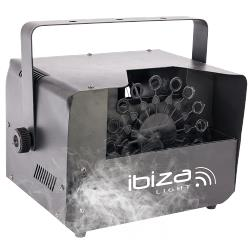 Ibiza Light FOG-BUBBLE400 Mini 2-in-1 rook + bellenblaas machine 400w (0)