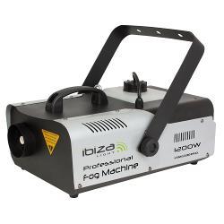 Ibiza Light LSM1200PRO Professionele programmeerbare rookmachine met dmx - 1200w (0)