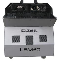 Ibiza Light LBM20 Dubbele bellenblaasmachine (0)