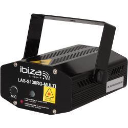 Ibiza Light LAS-S130RG-MULTI Firefly laser effect 100+30mw - rood, groen (0)