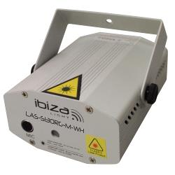 Ibiza Light LAS-S130RG-M-WH Firefly laser effect 100+30mw - rood, groen (0)
