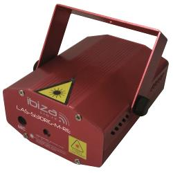 Ibiza Light LAS-S130RG-M-RE Firefly laser effect 100+30mw - rood, groen (0)