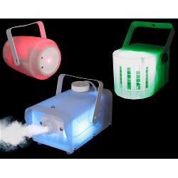 Ibiza Light CLEAR-PACK Set van 3 doorschijnende licht effecten (0)