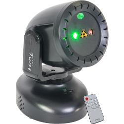 Ibiza Light TWIRLY-LZR Rood-groene mini laser moving head 130mw (0)