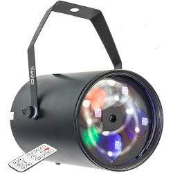 Ibiza Light GOBO-RGBW12W Rgbw lichteffect met 4x 3w led's & 4 gobo's (0)