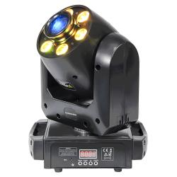 Ibiza Light PLUTON30-WASH 30w spot moving head gobow / colorw with 6 x 12w rgbwa-uv wa (1)