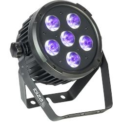 Ibiza Light PARLED606UV Dmx-bestuurde led par can met 6 x w uv led's (1)