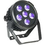 Ibiza Light PARLED606UV Dmx-bestuurde led par can met 6 x w uv led's (1)