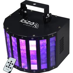 Ibiza Light BUTTERFLY-RC 6-kleurig led butterfly effect met afstandsbediening (1)