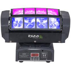 Ibiza Light QUAD8-FX 'spider' licht effect (1)