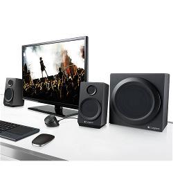 Logitech 980-001202 Speaker 3.5 mm RCA 40 W Zwart