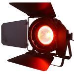 Ibiza Light LED-COB90 Dmx bestuurde rgb par can met 90w cob led & luiken (1)