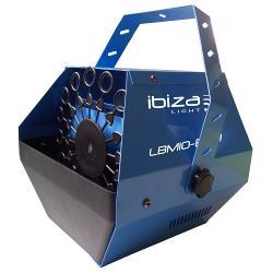 Ibiza Light Lbm10-blu draagbare bellenblaasmachine blauw