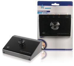 HQ ASWITCH-4 4-weg stereo input uitbreider
