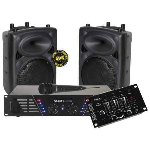 Ibiza Sound DJ300MKII Super disco geluidskit (1)