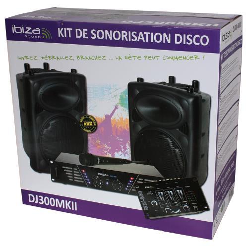 Ibiza Sound DJ300MKII Super disco geluidskit (2)